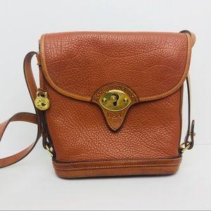 Vintage [Dooney & Bourke] Tan Calvary Shoulder Bag