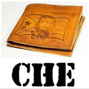 Other - Handmade Leather CHE Wallet