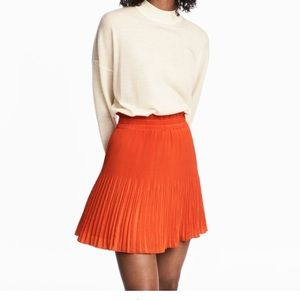 Woman's pleated skirt