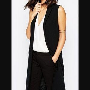 Zara sleeveless blazer