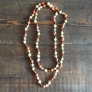 Jewelry - ✨Handmade knotted beaded necklace ✨