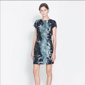 Zara Blue Cocktail Dress