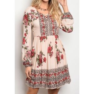 Dresses & Skirts - Small or Large Blush Floral Dress