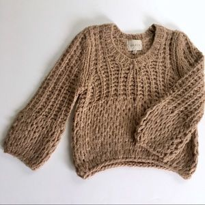 Anthropologie chunky sweater