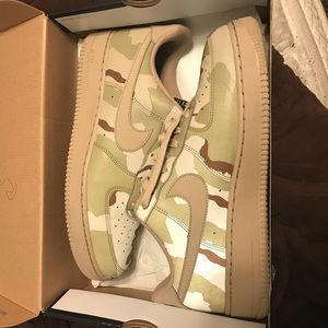Reflective camo air force 1