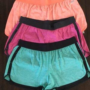 Set of 3 Danskin Now athletic shorts size L 12-14