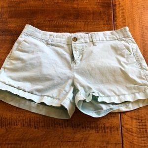 Old Navy - Mint Chino Shorts - Size 2