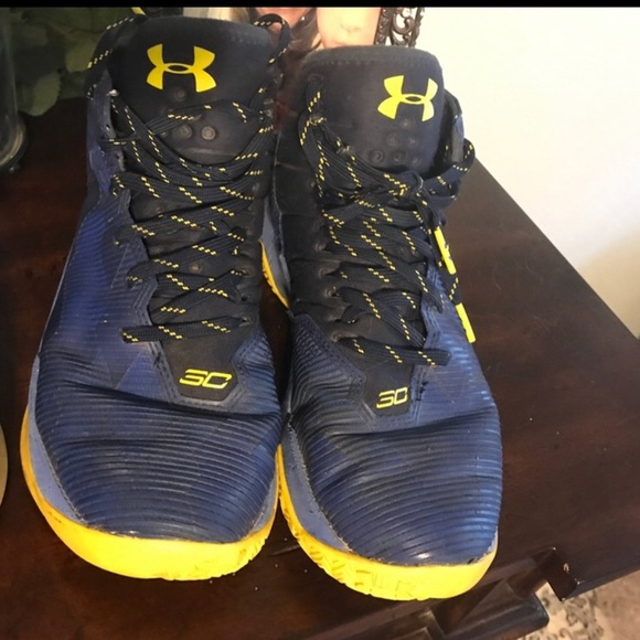 Yellow Steph Curry Shoes | Poshmark