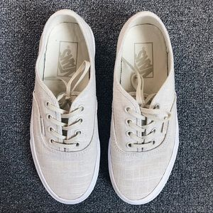 ✨ vans authentic hemp linen turtledove ✨