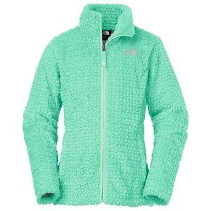 The North Face Girls Laurel Fleece Full Zip Jacket Coy Pink XS