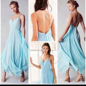 Kimchi Blue Mint Chiffon Dress