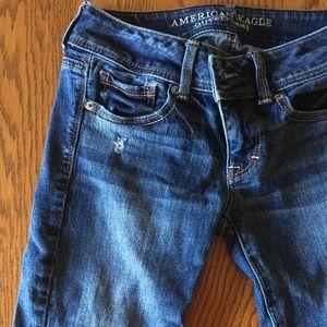 0 Long American Eagle Kick-boot Jeans