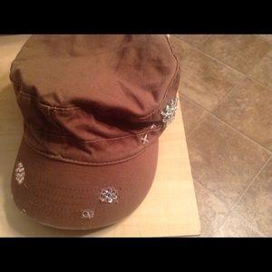 Jeweled cadet hat
