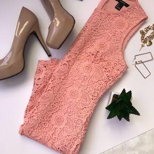 🔸 Pink Lace Dress 🔸