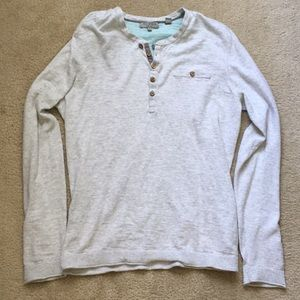Ted Baker warm & comfy long sleeve Henley