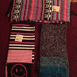 Scarves 3 diff styles