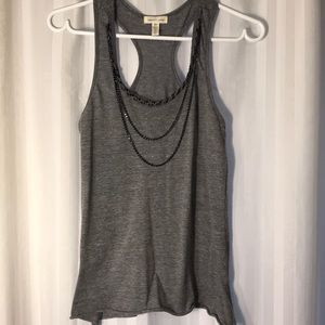 Urban Outfitters Racerback Tank with Necklace