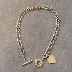 Tiffany & Co. Heart Tag Toggle Necklace
