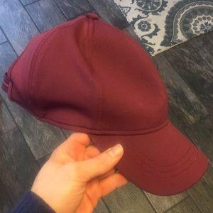 Lululemon Purple Baseball Hat Cap