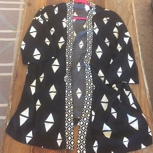 Short sleeve kimono