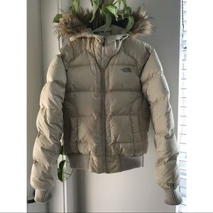 North Face Puffy Down Jacket
