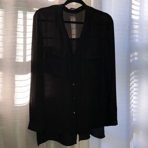 ZARA black shirt