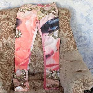 Roberto Cavalli colorful jeans