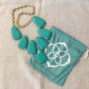Kendra Scott Harlow Necklace in Teal