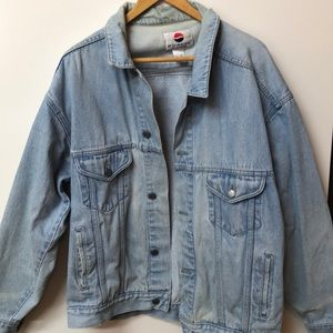 '90s Vintage Pepsi Promotional Jeans Jacket