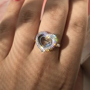 Chopard Floating Diamond Ring💜