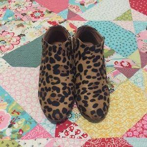 Cheetah Ankle Booties