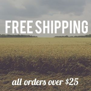 Other - 🍂🍁🍂Free shipping on all $25+ orders! Thru Mon👍