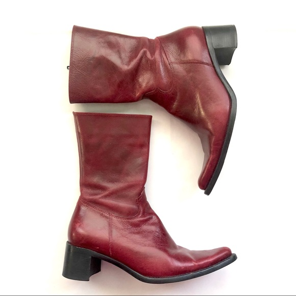Steve Madden Red Rocco Western Boots SZ 7.5
