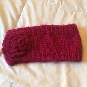 Wool head warmer headband