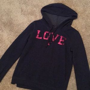 American Eagle Love hoodie sweatshirt
