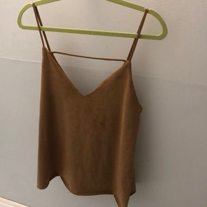 Forever 21 Suede Top