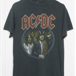 Brandy Melville AC/DC Vintage Graphic One Size NWT
