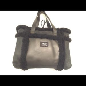 UGG Shearling leather suede purse BOO BOO sale
