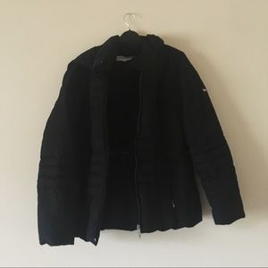 Calvin Klein Black Classic Hooded Puffer Jacket