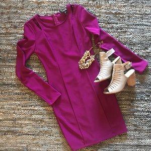 🆕 listing!  F21 Body con dress - HOT pink - Sz S