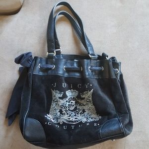 Juicy Couture black shoulder bag in New condition