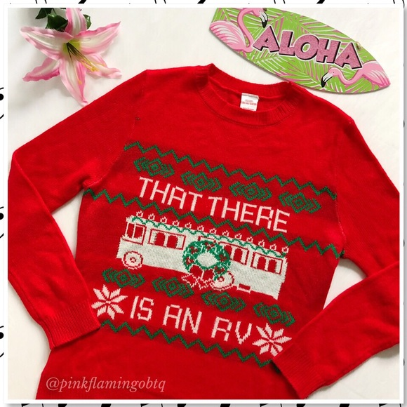a6734387af5188 Christmas Vacation Sweaters - Ugly Christmas Sweater That There is an RV