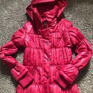 Winter puff coat