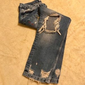 Zara Bf jeans Size 6