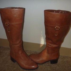 Franco Sarto Lizbeth Wide Calf Boots 9.5