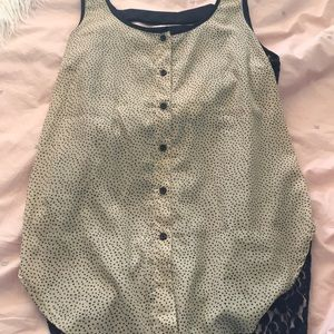 Heart and lace tank top!