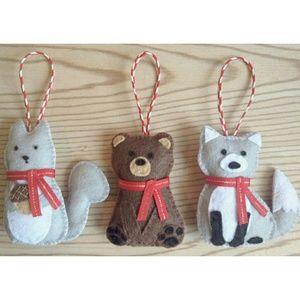 Handmade Ornament Set