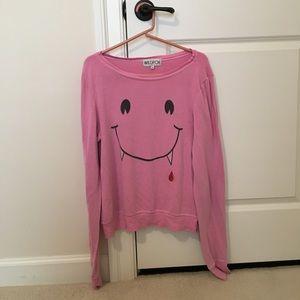 Pink long sleeve wildfox Sweater