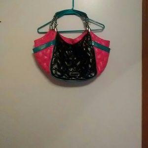 Multicolor Betsey Johnson tote bag