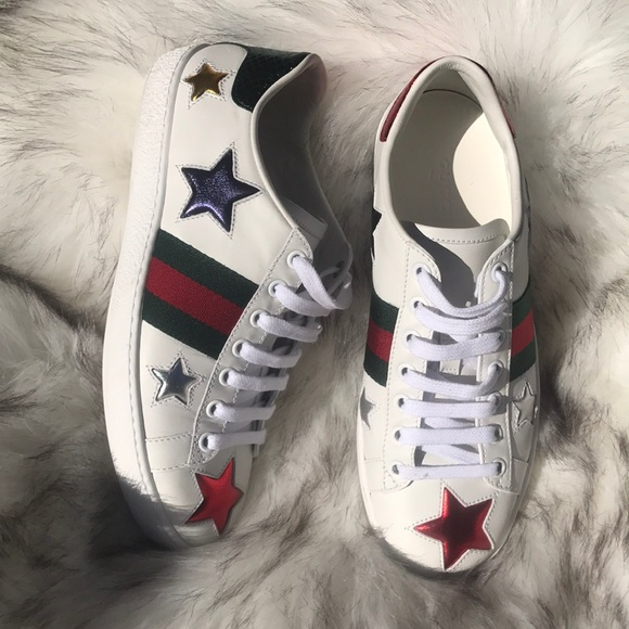 b316f9709 Gucci Shoes | Authentic Ace Star Sneaker | Poshmark